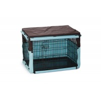 Beeztees Benco Benchhoes - Hond - Bruin/Mint - 89x60x66 cm 89 X