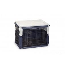 Beeztees Benco Benchhoes - Hond - Beige/Blauw - 78x55x61 cm 78 X