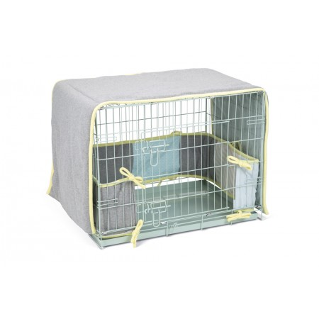 Beeztees Puppy Slaapset - Hondenbench - Multi - 78x55x61 cm OMTR