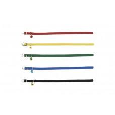 Beeztees - Kattenhalsband - Nylon - Rood - 6-29 cm 6-29 CM X 10