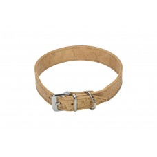 Beeztees Cork - Halsband Hond - Leer - Naturel - 50 cm x 30 mm 4