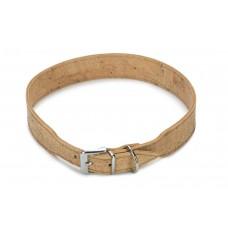 Beeztees Cork - Halsband Hond - Leer - Naturel - 65 cm x 35 mm 5