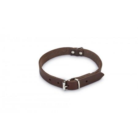 Beeztees - Halsband Hond - Leer - Bruin - 37,5-46,5 cm x 20 mm 3