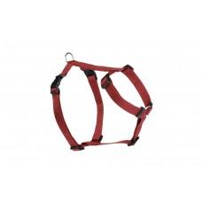 Beeztees Wandel- en Autogordel - Hond - Nylon - Rood - 30-40 cm