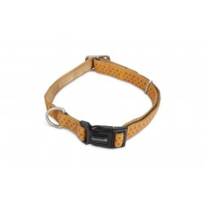 Beeztees - Halsband Hond - Mac Leather - Bruin - 45-70 cm 25 X 4