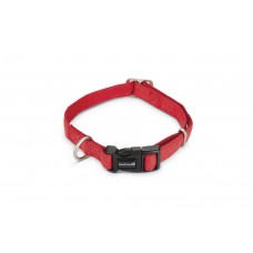 Beeztees - Halsband Hond - Mac Leather - Rood - 35-50 cm 20 X 35