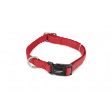 Beeztees - Halsband Hond - Mac Leather - Rood - 45-70 cm 25 X 45