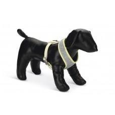 Beeztees Puppy Bronda - Hondentuig - Grijs - M HALS: 14 CM, BORS