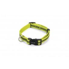 Beeztees Cabo - Halsband Hond - Nylon - Geel - 26-40 cm 26 - 40