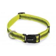 Beeztees Cabo - Halsband Hond - Nylon - Geel - 48-70 cm 48 - 70