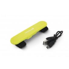 Beeztees Safety Gear Veiligheidslichtstrip+USB - Geel - 12 cm 12