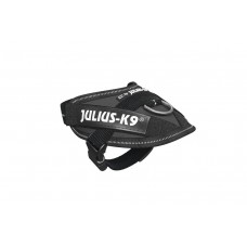 Julius K9 - Hondentuig - Antraciet - Baby 1 - 29-36 cm 18 X 15 X