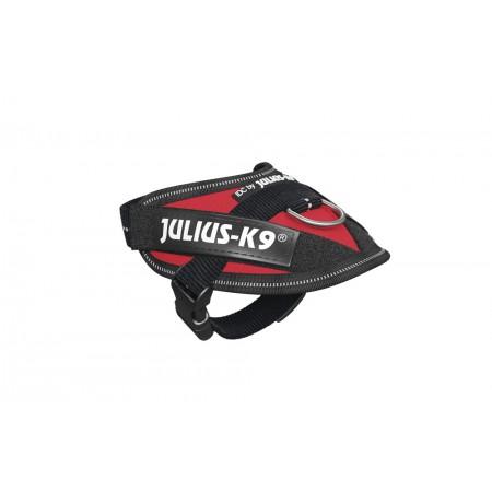 Julius K9 - Hondentuig - Rood - Baby 1 - 29-36 cm 18 X 15 X 13 C