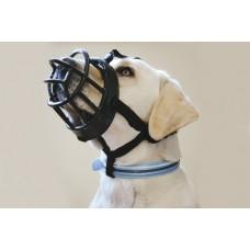 Beeztees Muilkorf - Hond - TPR - Zwart - Maat 5 MAAT 5