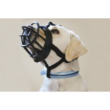 Beeztees Muilkorf - Hond - TPR - Zwart - Maat 6 MAAT 6