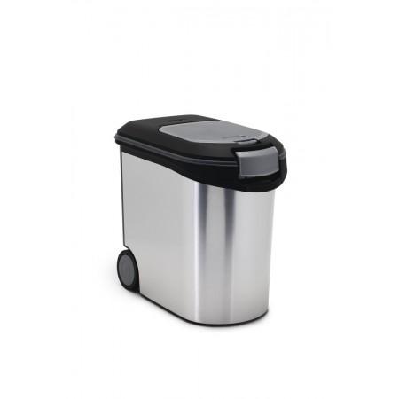 Curver voedselcontainer metallic. 35 liter. INHOUD CA. 35 LTR, 12 KG