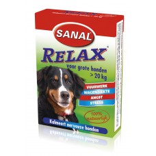 Sanal relax voor grote honden. INHOUD 15 TABLETTEN