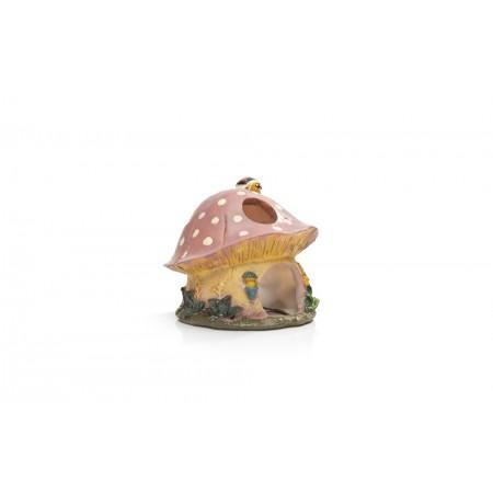 Paddelstoel - Hamsterhuis - Polyresin - 13x12x13 cm 13 X 12 X 13