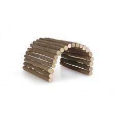 Beeztees Forest Wilgen Loopbrug - Knaagdier - 65 cm 65 X 20 CM