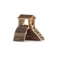 Beeztees Forest Speeltoren - Knaagdier - 17x11x15 cm 17 X 11 X 1