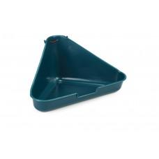 Beeztees Hoektoilet - Knaagdier - Groen - 35x20x17 cm 35 X 20 X