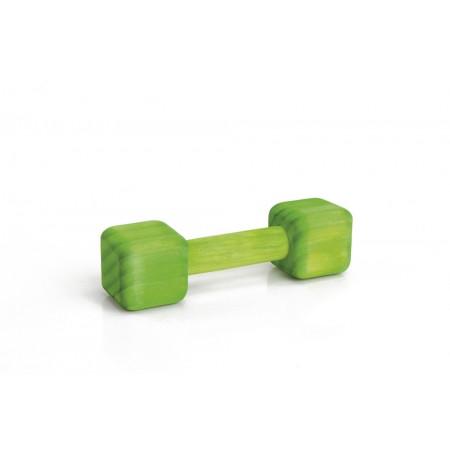 Halter - Knaagdierspeelgoed - Hout - Groen - 18x5x5 cm 18 X 5 X