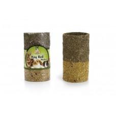 Quiko Sunny Gr Hay Roll Met Bloemen - Knaagdierensnack - M 350 G