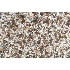Beeztees - Aquariumgrind - Bruin/Wit - 6-8 mm - 0,9Kg INHOUD 0,9