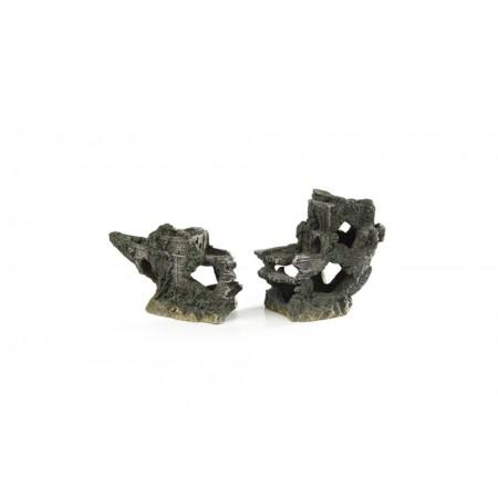 Beeztees Scheepswrak - Aquariumdecoratie - S - 25x12,5 cm 25 X 1