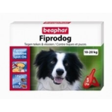 Beaphar Fiprodog 10-20 kg 3 pipet