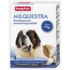 Beaphar Milquestra hond (5 tot 75 kg) 4 tabl
