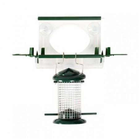 bolmso birdfeeder totaal - vogelvoederhuisje voor het glas