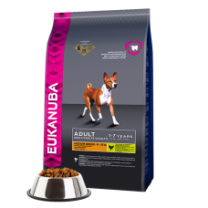 -   Eukanuba dog adult small/medium lamb&rice 12 kg