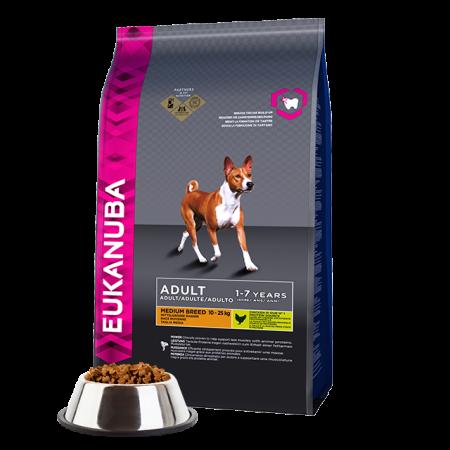 -   Eukanuba dog adult small/medium lamb&rice 12 kg