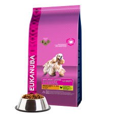 -   Eukanuba dog daily care adult medium over w/steril 12,5 kg