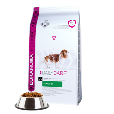 -   Eukanuba dog daily care senior 9+ all chicken 12 kg