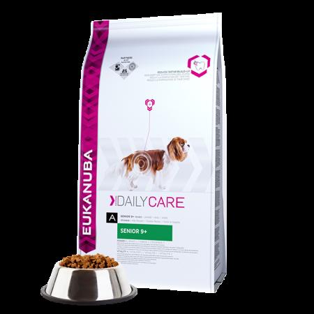 -   Eukanuba dog daily care senior 9+ all chicken 12 kg