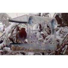 Bolmso birdfeeder - Vogel Voederhuis voor aan het glas