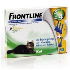 Frontline Spot On Cat 3+1GRATIS pipet ACTIEVERPAKKING