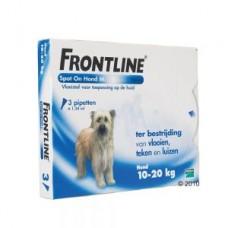 Frontline Hond 10-20KG 3+1GRATIS ACTIEVERPAKKING