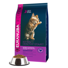 -   Eukanuba cat kitten/junior chicken&liver 4 kg