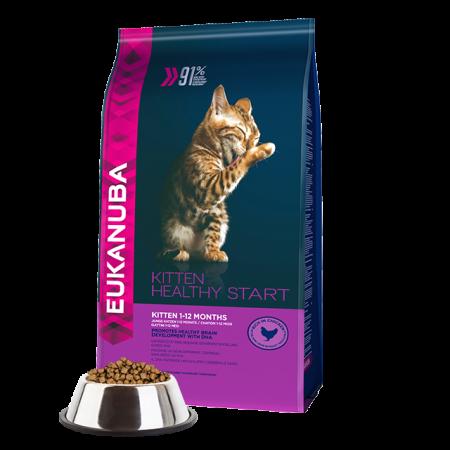 -   Eukanuba cat kitten/junior chicken&liver 4 kg