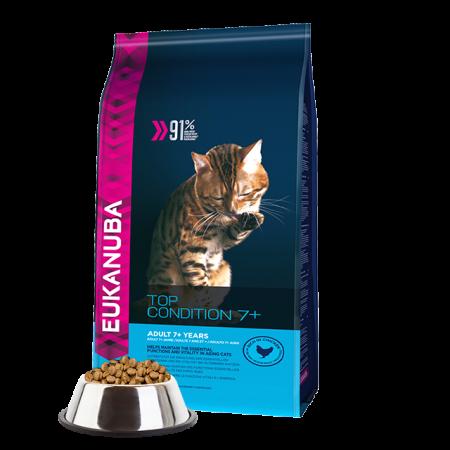 -   Eukanuba cat top condition 7+ senior chicken&liver 10 kg