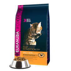 -   Eukanuba cat adult chicken&liver 4 kg