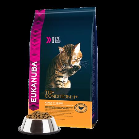 -   Eukanuba cat adult chicken&liver 4 kg