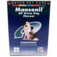 Mansonil ALL WORM FLAVOUR dog 2 tabletten