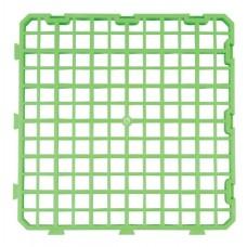 Plastic Bodemrooster Groen 25x25cm