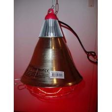 warmte lamp armatuur  50% schakelaar (zonder lamp)