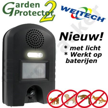 Weitech garden Protector 2 - hond en kat verjager