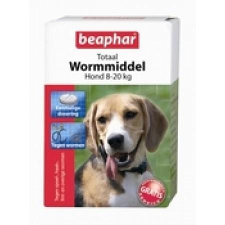 Beaphar Wormmiddel Totaal Hond Middelgroot 2st
